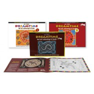 Dreamtime Dot Art Colouring-In Books Combo Package
