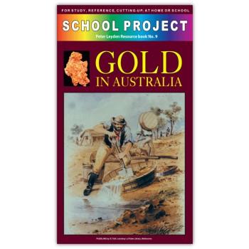 Gold In Australia School Project Book
