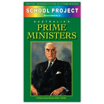 Australian Prime Ministers School Project Book