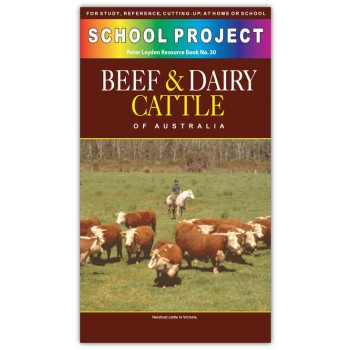 Beef & Dairy Cattle School Project Book