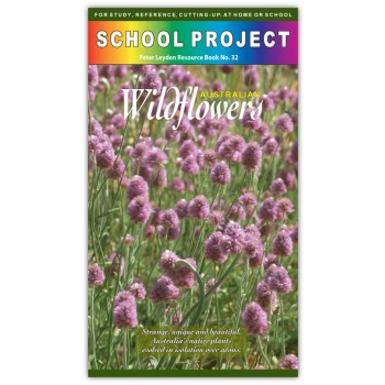 Australian Wildflowers School Project Book
