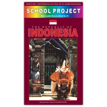 Indonesia School Project Book