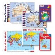 Map & Geography Combo Package