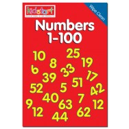 Numbers 1-100 Wipe Clean Book cover