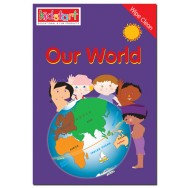 Our World Wipe Clean Book cover