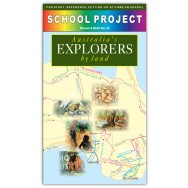 Australian Explorers By Land Project Book