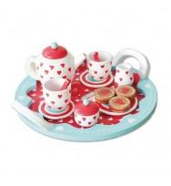 Hearts Tea Set