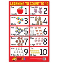 Learning To Count To 10 Chart