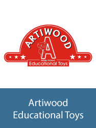artiwood educational toys logo