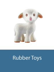rubber toys