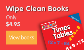 Wipe Clean Book Banner